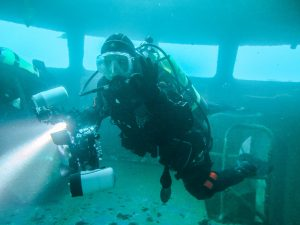 wreck diving New Zealand